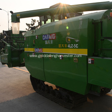 crawler style rice harvester  reliable parts